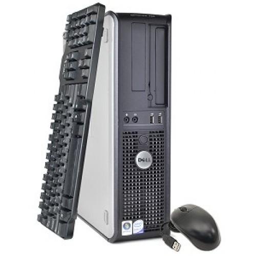 PC  Dell Optiplex 380,  Core Duo E5300, 2.60Ghz, 2 GbDDR3, 160Gb HDD, DVD