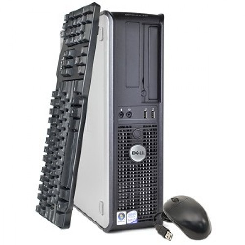 PC  Dell Optiplex 380 Desktop,  Intel Core 2 Duo E7500, 2.93Ghz, 4 GbDDR3, 160Gb HDD, DVD
