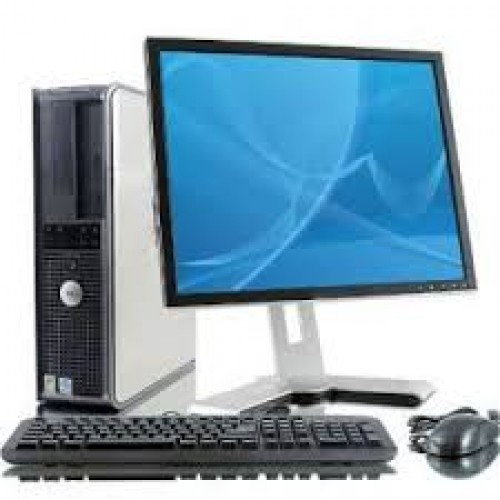 Pachet Calculator Dell OptiPlex 760 Desktop , Intel Core 2 Duo E8400, 3.0Ghz, 2Gb DDR2, 160Gb, DVD-RW cu Monitor LCD***