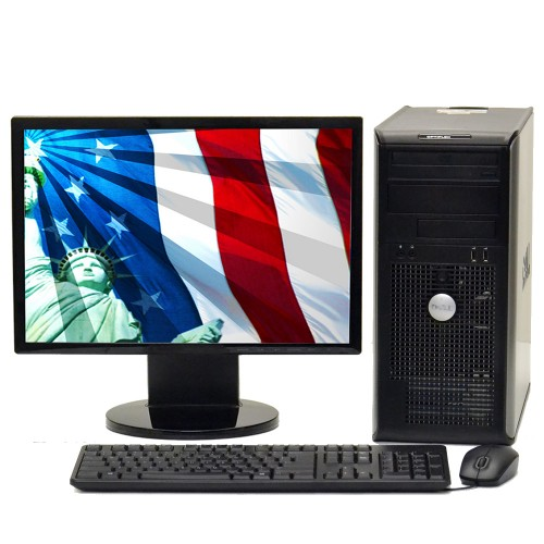 Pachet SH Dell OptiPlex 745, Intel Core 2 Duo E4400 2,0Ghz , 2Gb DDR2, 80Gb HDD, DVD-ROM cu Monitor  ***