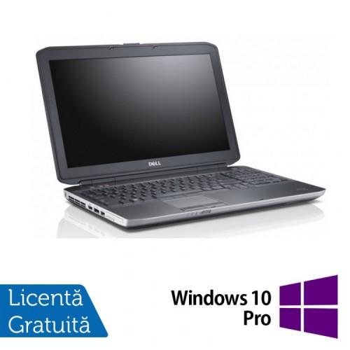 Laptop DELL Latitude E5530, Intel Core i5-3320 2.60GHz, 4GB DDR3, 320GB SATA, DVD-RW Extern + Windows 10 Pro