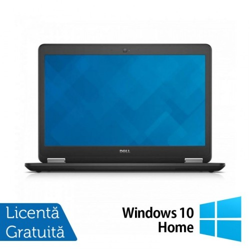 Laptop DELL Latitude E7440, Intel Core i5-4210U 1.70GHz, 8GB DDR3, 120GB SSD,14 Inch, Webcam + Windows 10 Home, Refurbished