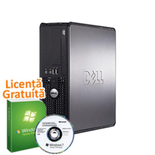 PC Calculator SH Dell Optiplex 780, Core 2 Duo E8400 3.0Ghz, 3Gb DDR3, 160Gb, DVD-RW + Win 7 Professional