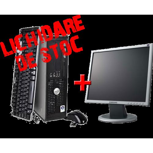 "Dell Optiplex 740 Dual Core AMD X2 4850+, 2Gb DDR2, HDD 80Gb, DVD-ROM cu Monitor 17"" ***"
