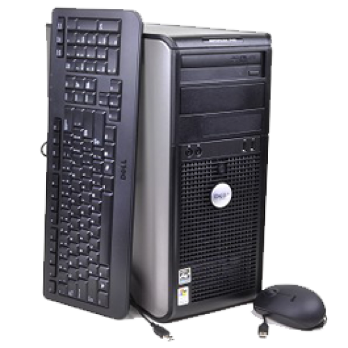 Dell OptiPlex 760 Tower, Intel Core 2 Duo E7400, 2.93Ghz, 2Gb DDR2, 160Gb, DVD-RW