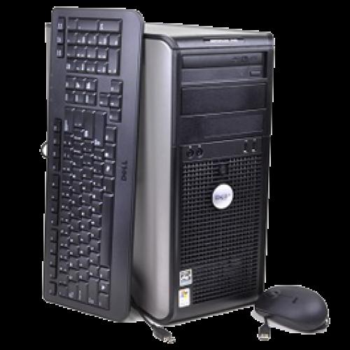 Calculator Dual Core Dell Optiplex 740, Tower, AMD Athlon 64 X2 4600+, 2GB DDR2, 80GB HDD, DVD-ROM ***