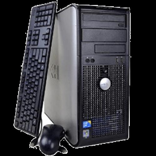 Oferta Calculator Dell Optiplex 740 Tower AMD Athlon 64 3500+ 2.2Ghz, 2Gb DDR2, 80Gb SATA, DVD-ROM