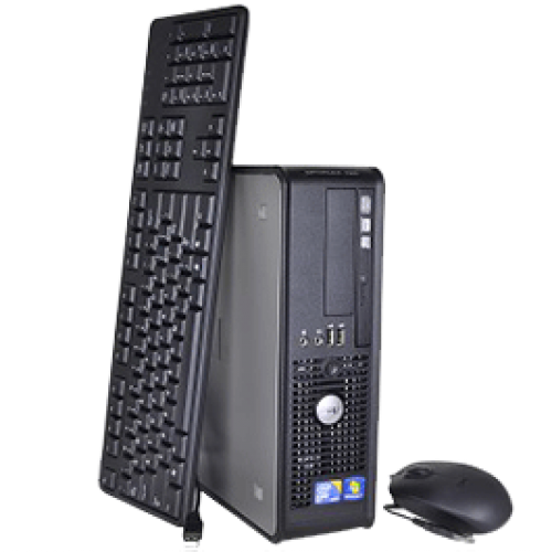 PC Calculator SH Dell Optiplex 780, Dual Core E5400 2.7Ghz, 2Gb DDR3, 250Gb, DVD-ROM