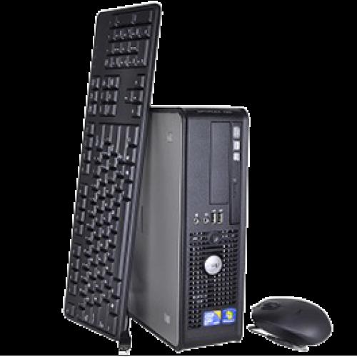 PC Dell Optiplex 755, Desktop, Intel Core 2 Duo E4500, 2.2Ghz, 2GB DDR2, 80GB HDD, DVD-RW