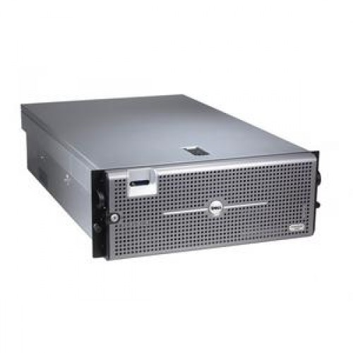 Server DELL PowerEdge R905, AMD Opteron 8382 2.6Ghz, 32Gb DDR2 ECC, FARA HDD, DVD-RW, Raid Perc 6iR, 2x Surse 1100W HS