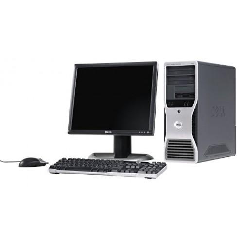 Pachet PC  Dell Precision 380, Intel Pentium D 3.4GHz Dual Core, 2GB DDR2, 80GB SATA, DVD