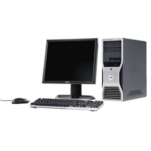 PC  Dell Precision 380, Intel Pentium D 3.4GHz Dual Core, 2GB DDR2, 80GB SATA, DVD cu Monitor LCD ***