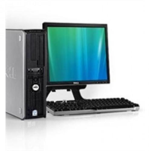 Calculator SH Dell Optiplex 755 SFF, Intel Core 2 Duo E8400 3.0GHz , 2Gb DDR2 , 160Gb SATA , DVD-RW  cu Monitor 15 inch LCD