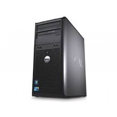 PC Dell Optiplex 380 TW, Intel Core2 Quad Q9550, 2.66Ghz, 4Gb DDR3, 250Gb HDD, DVD-ROM