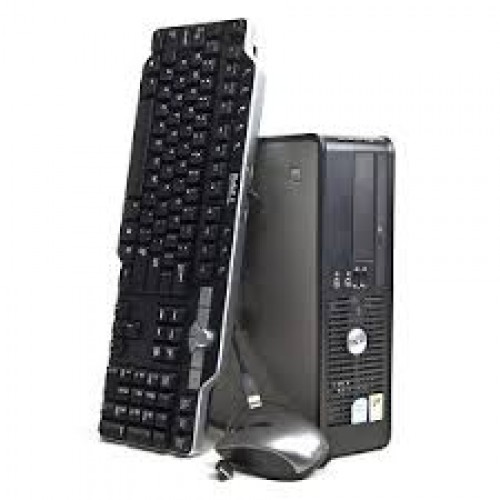 Unitate PC Dell Optiplex 745 SFF, Intel Dual Core E2180 2.00Ghz, 2Gb DDR2, 80Gb, DVD-ROM