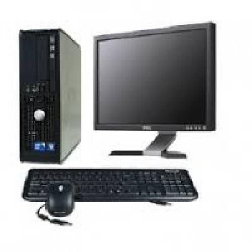 PC Dell Optiplex 780 SFF, Intel Core 2 Duo E7500 , 2.93Ghz, 2Gb DDR2, 160Gb HDD SATA, DVD-ROM cu Monitor LCD ***
