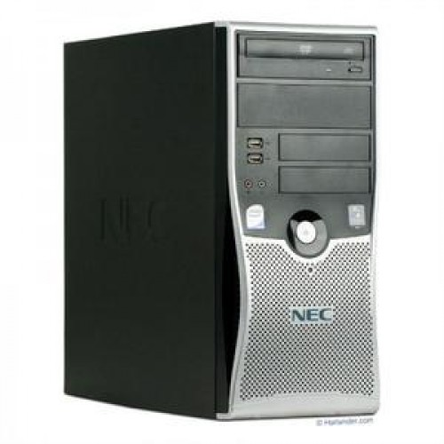Calculator SH NEC Powermate VL370 Tower, AMD Athlon 64 X2 4800+, 2.50GHz, 2GB DDR2, 80GB SATA, DVD-ROM