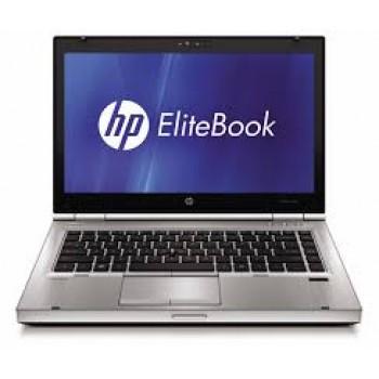 Laptop second hand HP EliteBook 8460p i5-2520M 2.5Ghz up to 3.2GHz 4GB DDR3 320GB HDD DVD-RW Webcam 14 Inch
