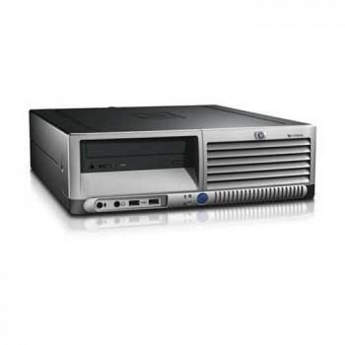 Computer Second Hand HP Compaq DC7600 Pentium D, 2.8GHz, 2Gb DDR2, 160Gb, DVD-ROM