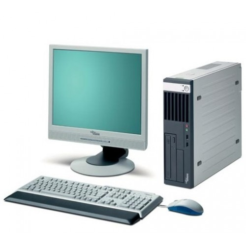 Pachet Calculator Fujitsu Esprimo E5720, Intel Dual Core E2160 , 1.8Ghz, 2Gb, 80Gb, DVD-ROM cu Monitor LCD