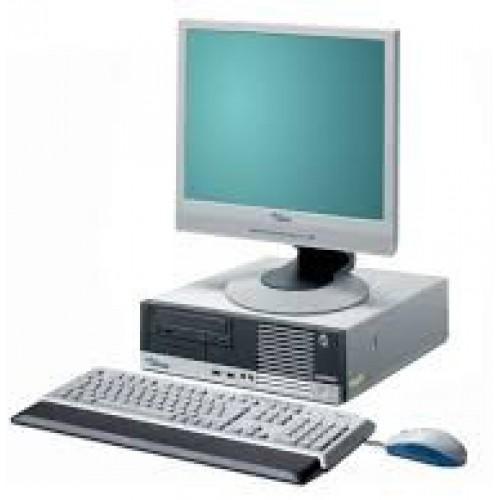 PC Fujitsu Siemens E5905, Pentium 4, 3.6Ghz, 1Gb, 40Gb, DVD-ROM cu Monitor 15 inch LCD ***
