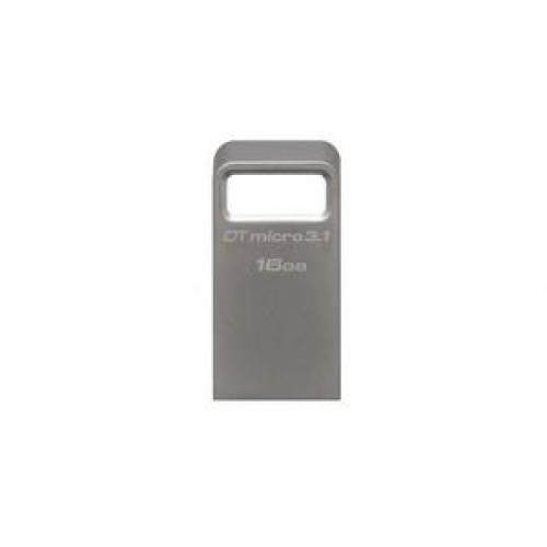 Stick memorie Kingston 16GB DTMicro USB 3.1-3.0 Metal Ultra Compact