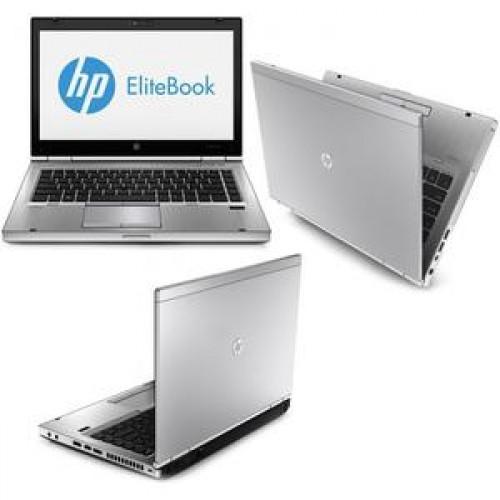 Notebook Hp EliteBook 8470p, Intel Core i5-3320M Gen. 3, 2.6Ghz, 8Gb DDR3. 320Gb SATA II, DVD-RW, 14 inch LED-Backlit HD
