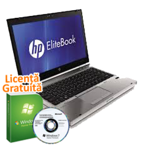 Laptop Hp EliteBook 8460p, Intel Core i5-2520M  2.5Ghz, 4Gb DDR3. 250Gb SATA II, DVD-RW, 14 inch, Windows 7 Home Premium