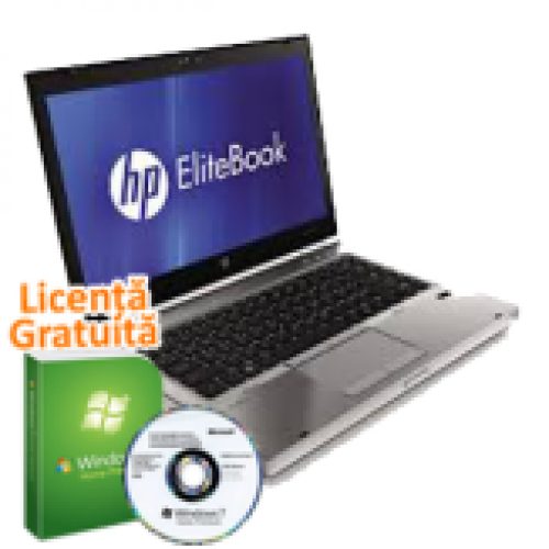 NotebooK Hp EliteBook 8460p, Intel Core i5-2450M Gen. 2, 2.5Ghz, 4Gb DDR3. 320Gb SATA II, DVD-RW, WebCam + Windows 7 Professional