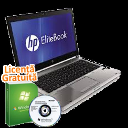 Laptop Hp EliteBook 8460p, Intel Core i5-2520M  2.5Ghz, 8Gb DDR3. 250Gb SATA II, DVD-RW, 14 inch, Windows 7 Home Premium