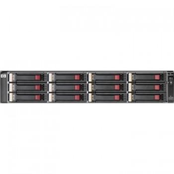 "Storage System HP EVA storage array P6300 FC-iSCSI AJ937A + 2 x Enclosure HP AJ832A StorageWorks M6612 12-Bay 3.5"" SAS Hard Drive Array Enclosure, Second Hand"