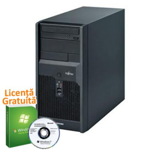 PC SH Fujitsu Siemens Esprimo P5730, Intel Core 2 Quad Q9400, 2.66Ghz, 4Gb DDR2, 160Gb SATA, DVD-RW + Windows 7 Professional