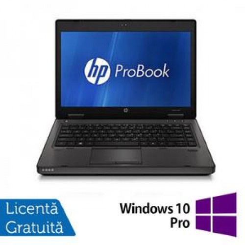 Laptop HP ProBook 6360B, Intel Core i3-2310M 2.10GHz, 4GB DDR3, 320GB SATA, DVD-RW + Windows 10 Pro