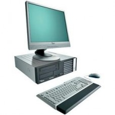 Oferta PACHET Fujitsu E3510 Intel Core 2 Duo E7300 2,66Ghz, 2Gb DDR2 , 80Gb HDD, DVD-RW cu Monitor LCD