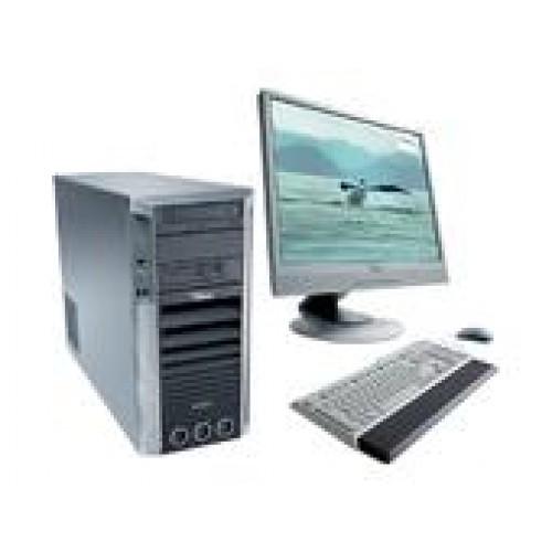 Pachet PC Fujitsu CELSIUS M450, Intel Core 2 Quad Q6600, 2.40GHz, 4Gb DDR2 ECC, 160Gb SATA, DVD-ROM, NVIDIA Quadro FX 1500 ***