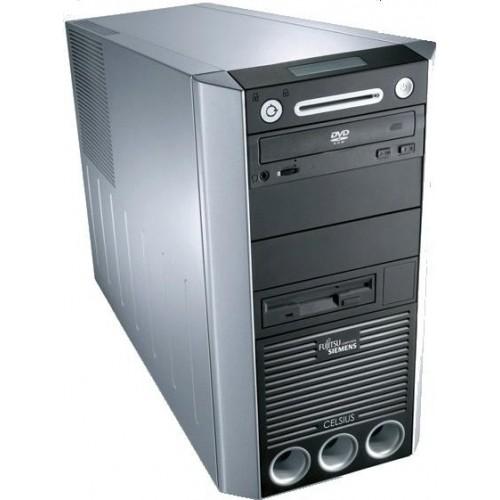 Calculator Fujitsu Celsius W340, Intel Pentium 4 3,2GHz , 2Gb DDR2 ,160Gb HDD , DVD-ROM ***