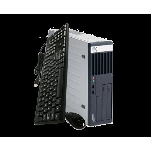 Calculator PC Fujitsu Siemens SFF C5720, Intel Core 2 Duo E4600 2.40Ghz, 2Gb DDR2, 160Gb HDD, DVD-ROM