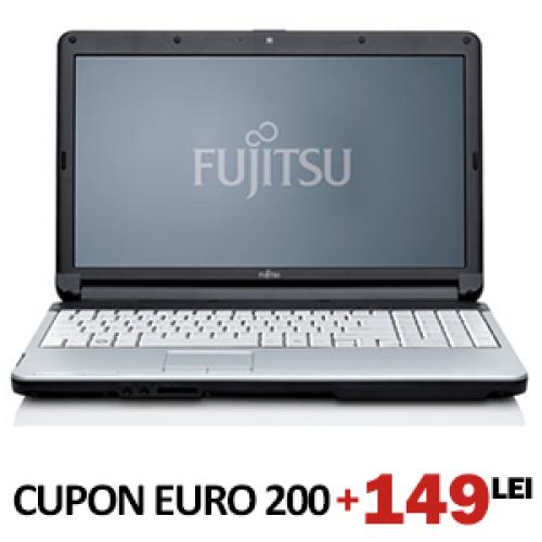 Cupon EURO200 Laptop Fujitsu, Intel Core 2 Duo 2.0Ghz, 2gb ram, 80 hdd, dvd-rom***