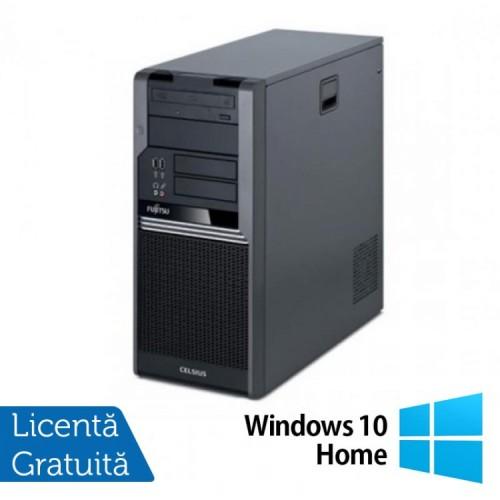 Fujitsu CELSIUS W280, Intel Core i3-530 2.93Ghz, 4Gb DDR3, 250Gb SATA, DVD-RW + Windows 10 Home