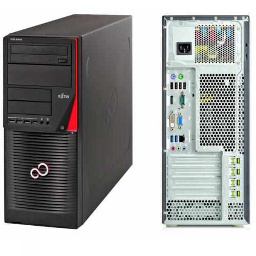 Calculator SH Fujitsu W530, Intel Core i7-4790 Generatia a 4-a 3.6GHz, 8Gb DDR3, 500GB SATA, DVD, PLACA VIDEO 1GB