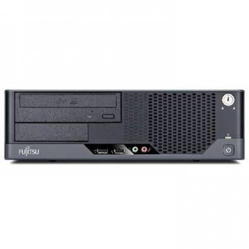 PC Fujitsu E5730 Core 2 Duo E8500 3.16GHz 4GB DDR2 250GB HDD Sata DVD Desktop + Windows 7 Home