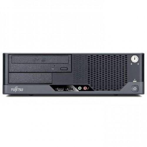 PC Fujitsu E5730 Core 2 Duo E8500 3.16GHz 4GB DDR2 250GB HDD Sata DVD Desktop + Windows 7 Home