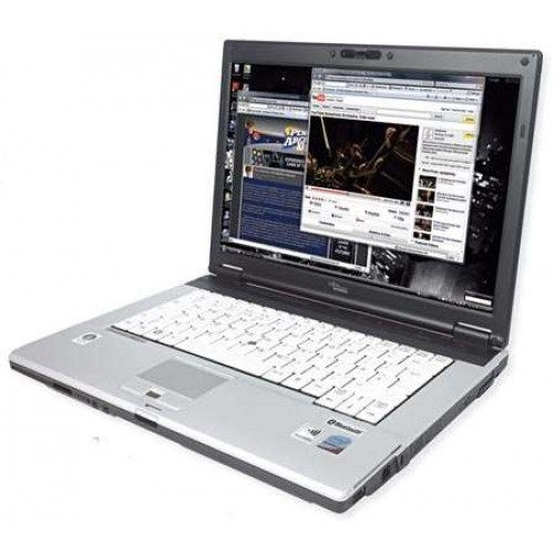 Laptop SH Fujitsu Siemens S7220, Core 2 Duo P8700, 2.53Ghz, 4Gb DDR2, 160Gb Sata, 14.1 inch Wide, 1 + 1 (Bonus!) Second battery