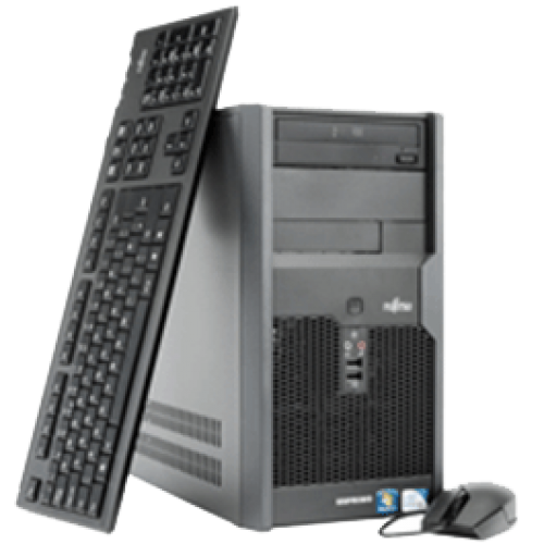 Oferta PC Fujitsu Esprimo P7935 Intel Core 2 DUO E7500  2.93Ghz, 2Gb DDR2 160Gb HDD, DVD-ROM ***