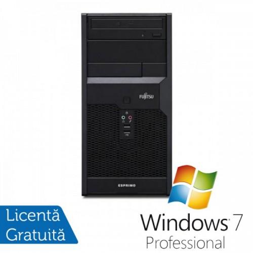 Fujitsu P3721 Tower, Intel Core i3-540 3.06Ghz , 4Gb DDR3, 250GB SATA, DVD-RW + Windows 7 Professional