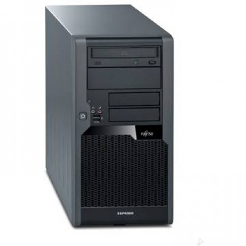 PC Fujitsu P5730 Core 2 Duo E8400 3.0GHz 2GB DDR2 250GB HDD Sata DVD Tower  + Windows 7 Home