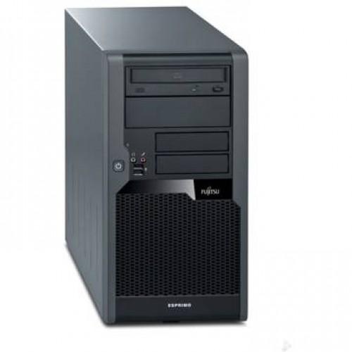 PC Fujitsu P5730 Core 2 Duo E8400 3.0GHz 2GB DDR2 250GB HDD Sata DVD Tower  + Windows 7 Home