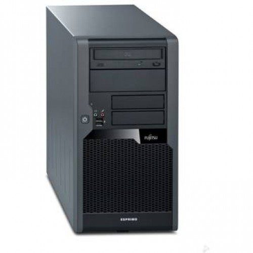 PC Fujitsu P7935E Core 2 Duo E8400 3.0GHz 2GB DDR2 500GB HDD Sata DVD Tower + Win 7 Home