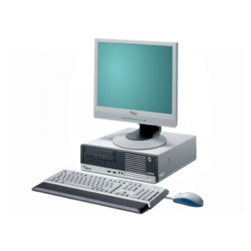 PC Fujitsu Siemens Esprimo E5915, Core 2 Duo E6320, 1.87Ghz, 1Gb DDR2 , 80Gb, DVD-ROM cu Monitor LCD ***