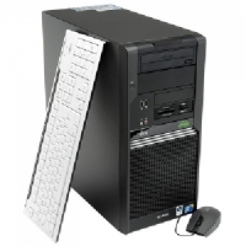 Calculator Fujitsu W370 Tower, Core 2 Duo E8400 3,0Ghz,  2Gb DDR2 , 160Gb HDD , DVD-ROM ***